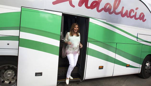 Susana Díaz se irrita y tacha de