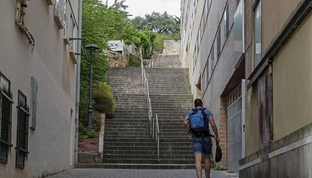 Llevan al pleno los problemas de accesibilidad de la calle Cotarro