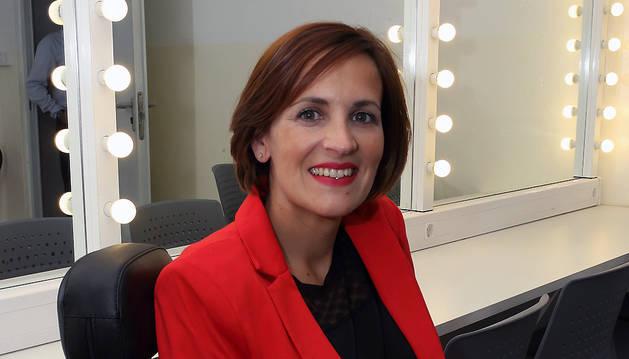 María Chivite, en el Gayarre.