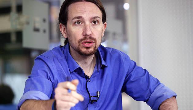 El dirigente de Podemos y europarlamentario, Pablo Iglesias.