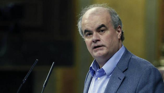 El diputado de UPyD Carlos Martínez Gorriarán.