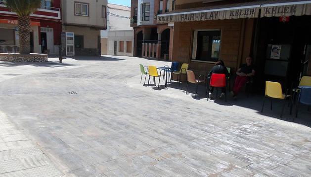 Imagen de la plaza tras las obras.