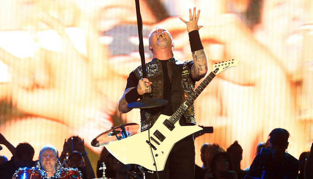 ​Metallica descarga su furia sobre Rock in Río en Las Vegas