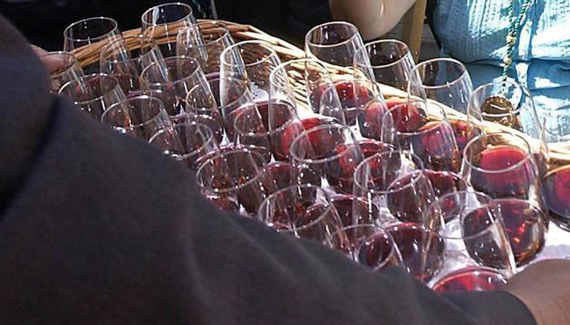 Olite acoge este domingo el Gran Capítulo de la Cofradía del Vino