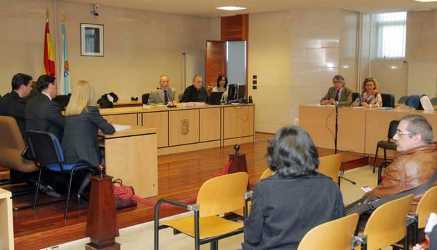 El sorteo para la selección de los miembros del jurado que juzgará el crimen de la niña Asunta.