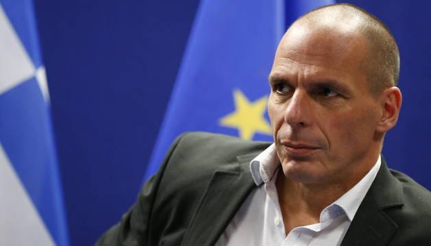 Varufakis, tras la reunión de la Eurozona.