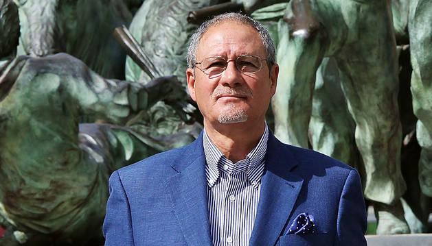 Dámaso Crespo, candidato de UPyD al Ayuntamiento de Pamplona.