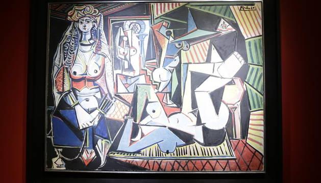 'Las mujeres de Argel', de Picasso.
