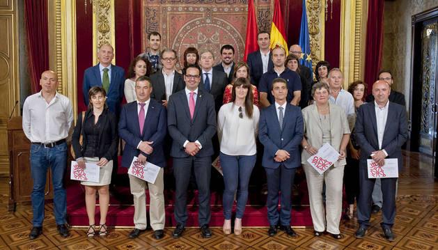 Empresas reconocidas por el Gobierno de Navarra