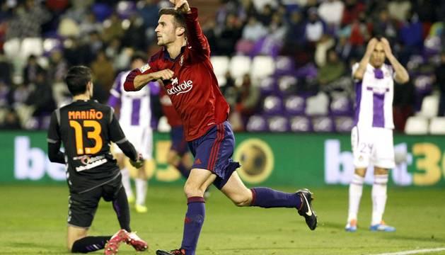Oier marcó el gol de la victoria el año pasado.