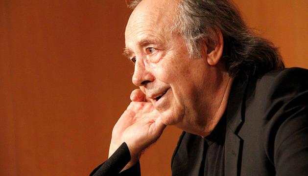 Rueda de prensa de Joan Manuel Serrat en Pamplona