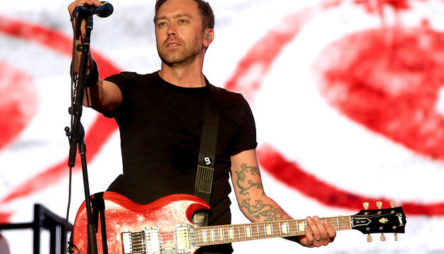 Tim McIlrath, de Rise Against.