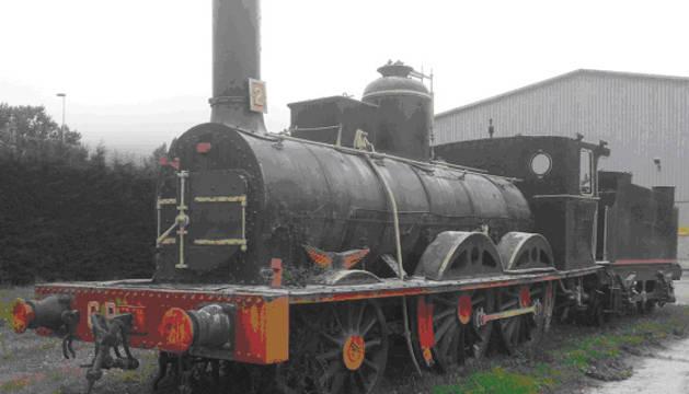 La segunda locomotora de vapor.