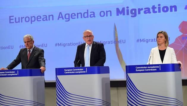 Europa propone un sistema de cuotas para distribuir a los inmigrantes