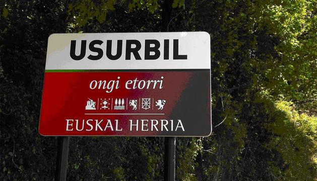 Señalización de Usurbil.