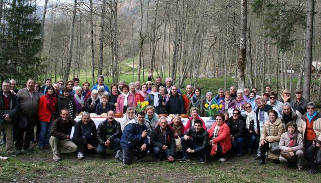 Viaje a los alpes de la unión de jubilados de la UGT de tudela