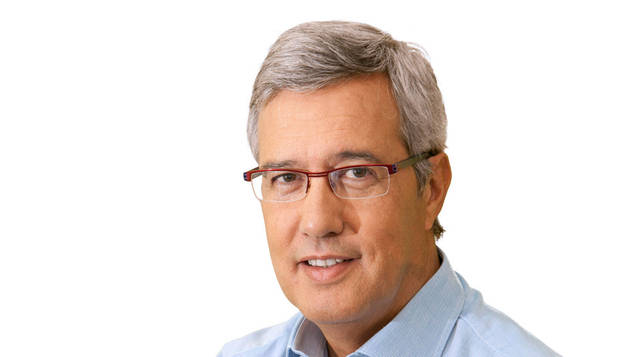 El presentador Ernesto Sáenz de Buruaga.