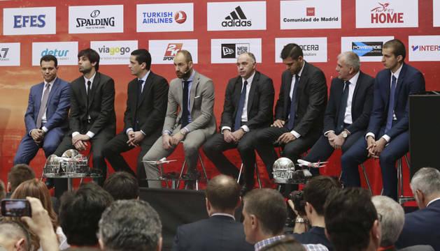 Presentación de la Final Four en Madrid.