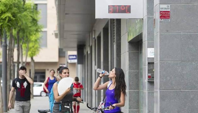 Fallece un hombre a causa del calor en Extremadura