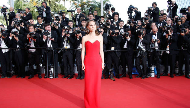 Natalie Portman, en el Festival de Cannes.
