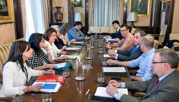 El Consejo de Diálogo Social valida el Plan de Salud Laboral de Navarra.
