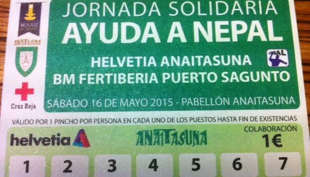 Imagen de la tarjeta solidaria, que tendrá el precio simbólico de un euro.