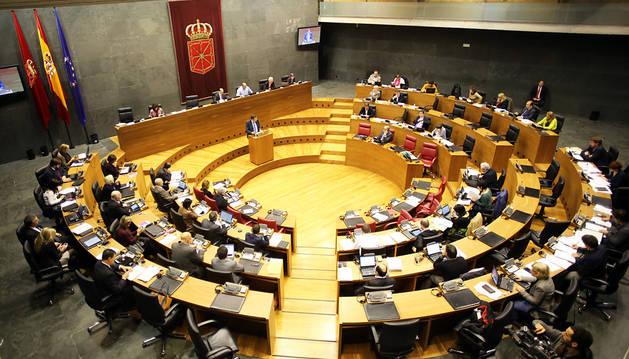 El Parlamento, durante una sesión plenaria.