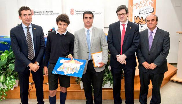 Álvaro Escolar, el estudiante premiado.