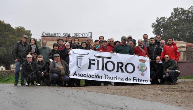 La sociación taurina de fitero, de visita en salamanca