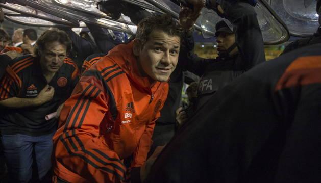 Suspendido el Boca-River por el ataque con gas a varios jugadores