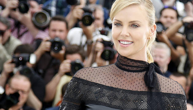 ​Charlize Theron, en Cannes.