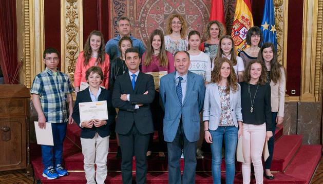 Los institutos de Tafalla y Marcilla ganan un concurso sobre consumo