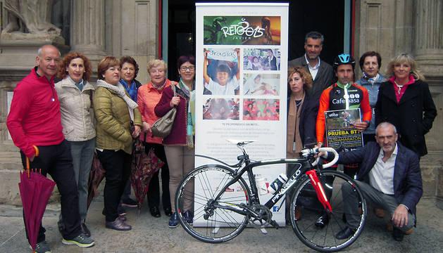Iriberri ha salido este viernes desde el Ayuntamiento de Pamplona.