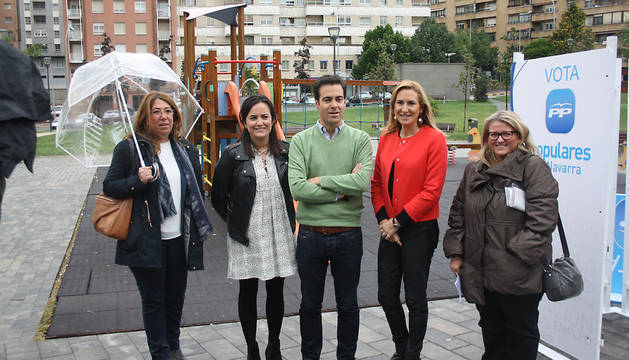 Alba, Sanz, Zalba, Beltrán y Zarranz.