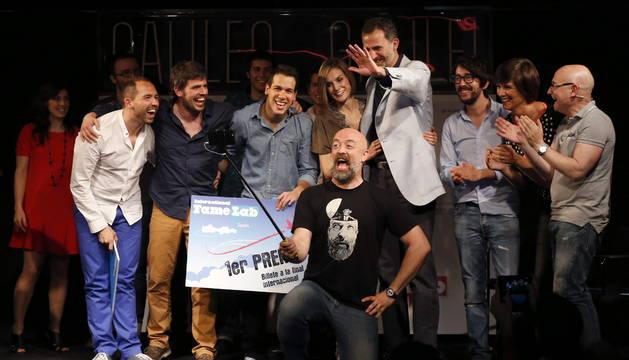 Los Reyes atienden el concurso de monólogos FameLab