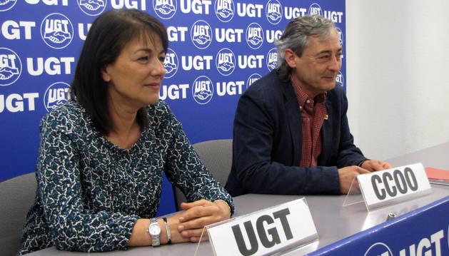 Representantes de UGT.