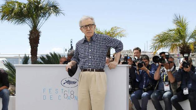Woody Allen, en el Festival de Cannes.