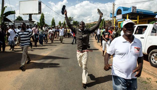 El golpe de estado contra el presidente de Burundi fracasa