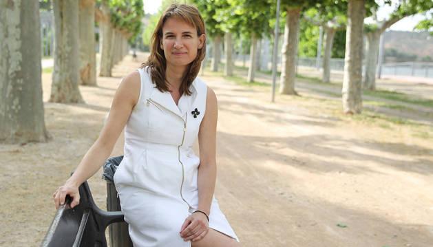 Irene Royo Ortín, candidata del partido popular a la Alcaldía Tudela.