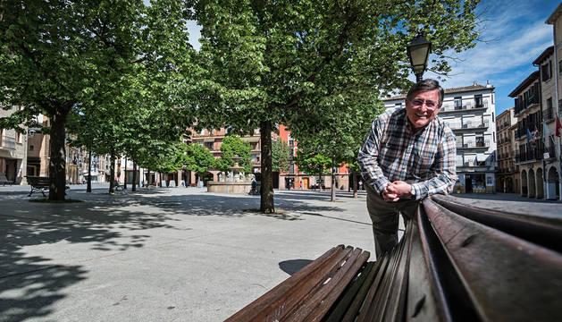 Ricardo Gómez de Segura Vergarachea candidato de Geroa Bai a la alcaldía de Estella.