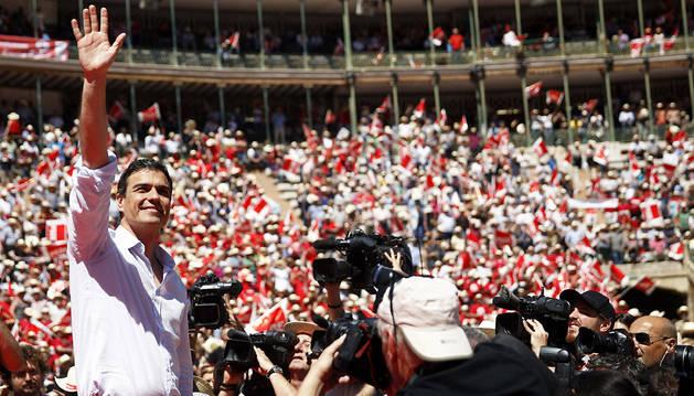Sánchez pide el voto para la