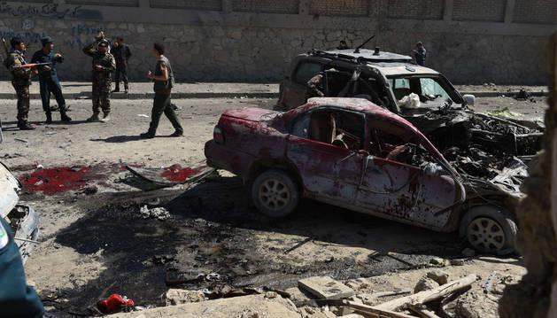 Un británico entre los 4 muertos en un atentado contra la UE en Kabul