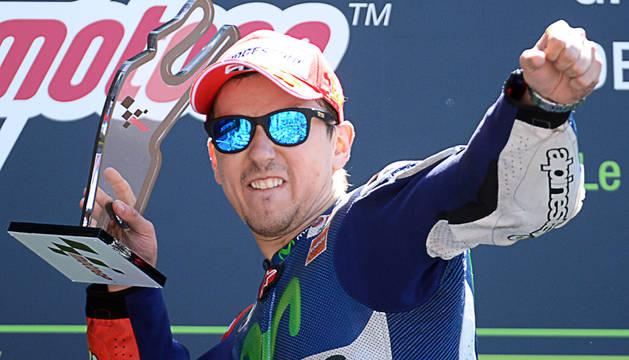 Lorenzo logra otra victoria y se coloca segundo en el Mundial
