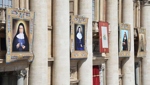 El Papa canoniza a dos palestinas por primera vez desde los apóstoles