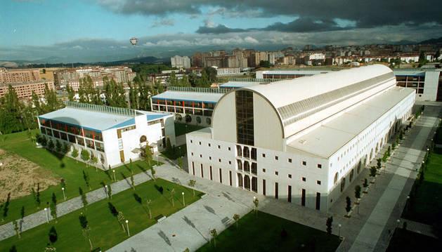 Vista general del campus de la Universidad Pública de Navarra, creada en 1987.
