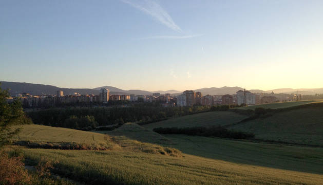 Amanecer en la Cuenca de Pamplona. 18/05/2015