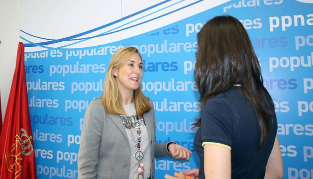 Ana Beltrán, en la sede del PPN.