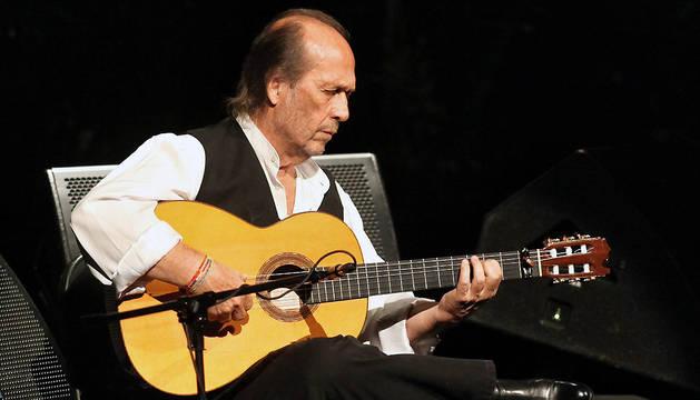 Fotografía de archivo del 5 de octubre de 2013 del guitarrista Paco de Lucía.