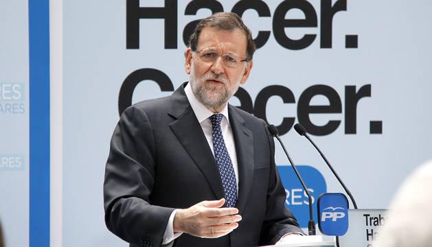 Visita de Rajoy a Pamplona
