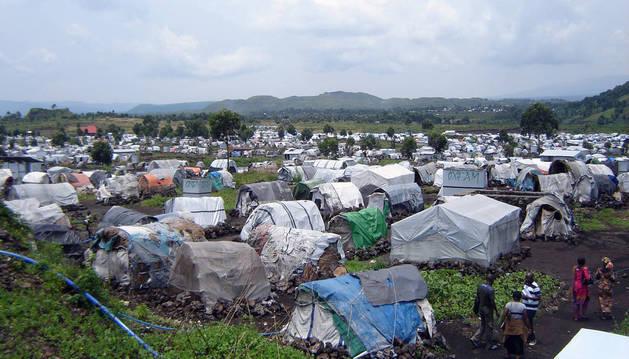 Campaña de cooperación con el Congo.